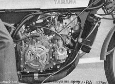 Motorcycle Posters, Motorcycle Engine, Yamaha 125, Race Engines, Racing, Bikers, Motorcycles, Motorbikes, Running