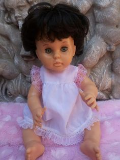 Collectable - First Love Doll 1978 with Stunning Dark Brown Hair! So Rare! for…