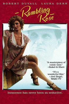 Rambling Rose (Rosa  Scompiglio e i suoi amanti : Italian title) , USA '91 by Martha Coolidge ; with Laura Dern  (24) , Lukas Haas (15) /// Buddy Hillyer rievoca  la propria precoce adolescenza, insieme con lo scompiglio recato in casa dall'arrivo di Rose, una graziosa ragazza di campagna, che gli procurò anzi tempo curiosità, emozioni e turbamenti , infilandosi  nel  suo letto per confidarsi e consolarsi.  ///  bw