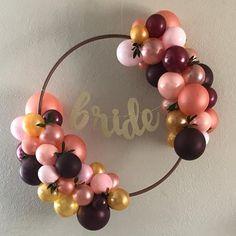 Elegance for the Bride Balloons, Wreaths, Bride, Elegant, Home Decor, Wedding Bride, Classy, Homemade Home Decor, Door Wreaths