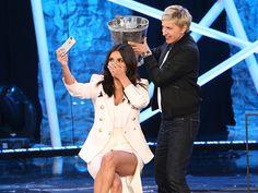 Kim Kardashian Takes the Ice Bucket Challenge & of course a selfie at the same damn time!
