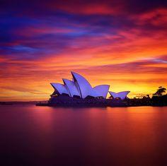 Opera Sunrise, Sydney, Australia - Photo by Noval Nugraha
