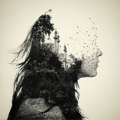 """Double exposure photography series by Dan Mountford. All photos were created """"in camera"""" without digital manipulation."""