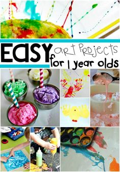 Get in touch with your crafty side with these amazing (and easy!) art projects for your littlest artists.