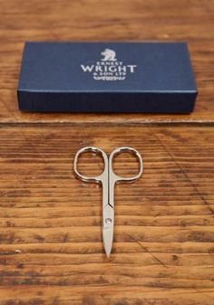 Nail Scissors, Right Handed, by Ernest Wright and Son - £23.00 - Lissom & Muster