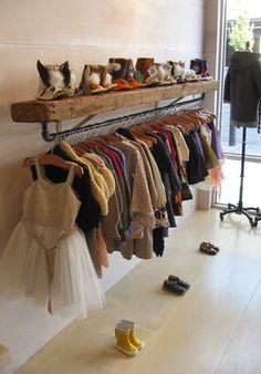 Ideas his and hers closet organization diy laundry rooms room organization diy Diy Dressing, Dressing Room, Clothing Storage, Clothing Displays, Kids Clothes Storage, Clothing Racks, Kids Clothing, Kids Boutique, Boutique Ideas