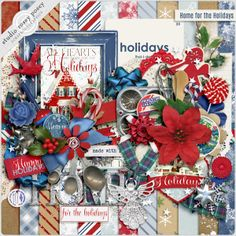Home For The Holidays By Rosey Posey Avaible @ Scrapbookgraphics http://shop.scrapbookgraphics.com/Rosey-Posey/