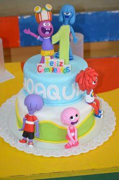 Torta y adornos Jelly Jamm