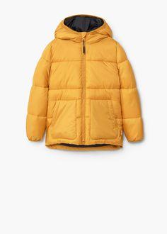 Anorak acolchado capucha | MANGO KIDS