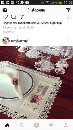 Kaneviçe yemek masası