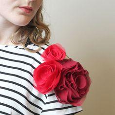 DIY Runway: Chiffon Roses Class