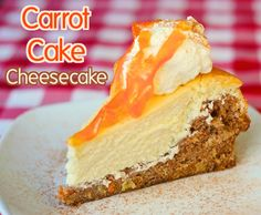 Carrot Cake Cheesecake - a copycat recipe from years back, inspired by the Cheesecake Factory version of this incredible dessert, this recipe is actually quite a bit easier to accomplish than you might think. The cheesecake layer is baked right on top of the carrot cake layer in the same pan at the same time.