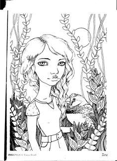Zen Mode Nickfilbert Ink Pen Sketch Illustration Drawing