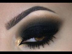 ♡ Black Smokey Eye | Melissa Samways ♡ - YouTube
