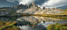 Mountain Lake by Kilian Schönberger, via 500px mountains, mountain lake, dolomit, landscap photograph, lakes, color blind, wonder photo, kilian schönberger, blind photograph