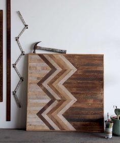 Painéis de parede de madeira recuperada