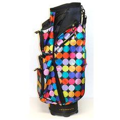 Molhimawk Loudmouth Golf Cart Bag Disco Balls | Golf4Her