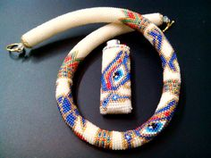 """Necklace of beads """"Egypt"""" - Handmade - Exclusive"""
