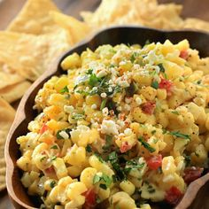 If you're looking to switch up your appetizer spread, you'll want to try out our 20-minute creamy corn salsa!
