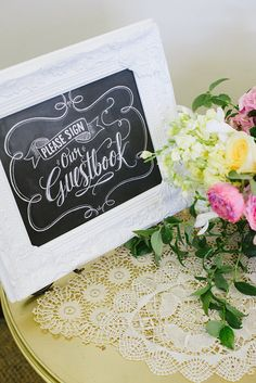 Wedding Guestbook Sign  Please Sign Our Guestbook  by LilyandVal, $19.00
