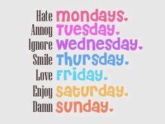 Weekly Feelings (: