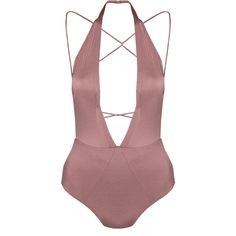 Aigra Swimsuit ($310) ❤ liked on Polyvore featuring swimwear, one-piece swimsuits, swimming costumes, bathing suit swimwear, swim suits, one piece swimsuit and swimsuit swimwear