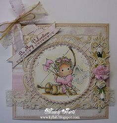 Cards by Astrid: Colour Challenge at The Ribbon Girl Blog !!!