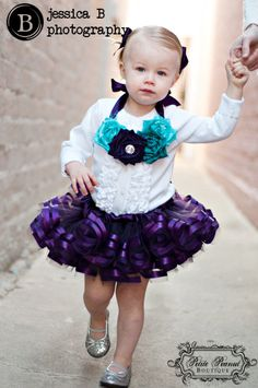 ROYAL tutu - Double Satin Ribbon Edge Tutu- (6 months - 24 months 2T)- Plum - Custom Order - Photography prop - Wedding