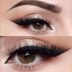 Have you always wanted to achieve that beautiful cat eye look with your eyeliner? If you're having a hard time, there are some easy cat eyes makeup tips you can try out. Makeup Goals, Love Makeup, Makeup Tips, Makeup Ideas, Cat Eye Nails, Cat Eye Makeup, Makeup Collection, Dark Skin, Wedding Makeup