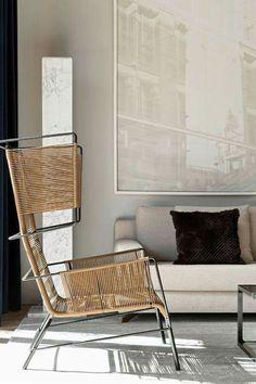 Fifty armchair by Ligne Roset via Diego Revollo Arquitetura
