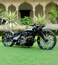 They're customizing Harley Street 750s in India!