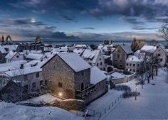 Visby op het eiland  Gotland.  Zomers een heerlijke plek maar ook 's winters prachtig.