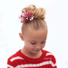 jehat hair — Festive messy bun with gift wrap bow - I just...