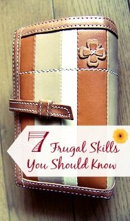 It takes important skills to live your most frugal life- the more skills you learn, the more money you save! Discover 7 frugal skills you should know!