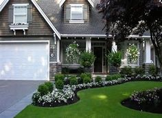 Easy Landscaping Ideas for Front Yard | Front Yard Garden Design -