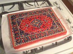 The Dude's rug frosted cake [OC] #food #foodporn #recipe #cooking #recipes #foodie #healthy #cook #health #yummy #delicious