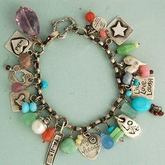 Celebration Personalized Charm Bracelet by BellaBranchJewelry