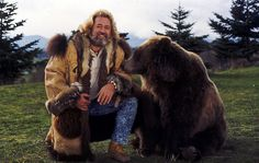 """CBS Studio Dan Haggerty talks about being Grizzly Adams, the Show and stars. Bozo who was actually female, played """"Ben"""", the companion to actor Dan Haggerty . Grizzly Adams, Le Grizzly, Old Shows, Hollywood, Por Tv, Vintage Tv, Mountain Man, Classic Tv, Classic Movies"""