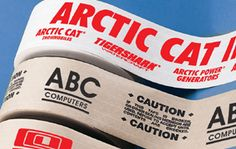 Kraft Tape. Custom create with business name and logo