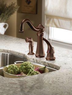 Vestige kitchen faucet by Moen.