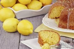 Receita de Bolo de limão molhadinho em receitas de bolos, veja essa e outras receitas aqui!