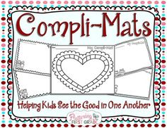 Classroom community building happens all year long. Our Compli-mats teach kids how to look for the good in others. By passing our Compli-mats around the room, each child gets the opportunity to write something nice about their fellow classmates. It's taking the focus off the bad, and magnifying what is good!