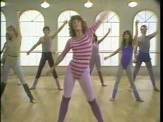 Gotta love 80s workout videos. Jane Fonda fitness