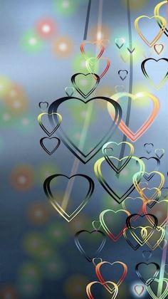 Many hearts, our love. Daizo and Janna💞💞💞👫 - Herz Heart Wallpaper, Butterfly Wallpaper, Wallpaper Iphone Cute, Love Wallpaper, Cellphone Wallpaper, Colorful Wallpaper, Wallpaper Backgrounds, Wallpaper Ideas, Trendy Wallpaper