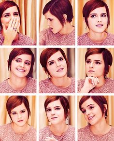 Emma Watson (I love her hair in these pics)