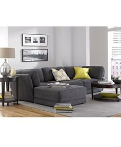 This 'n' That Fabric Modular Living Room Furniture Collection with Sets & Pieces - furniture - Macy's