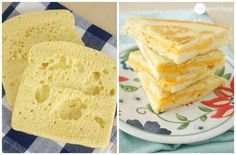 Gluten Free - one slice of bread. Learn how quick and easy it is to make gluten free bread for one in your microwave! You'll be enjoying a gluten free sandwich in no time. Good Gluten Free Bread Recipe, Gluten Free Flour, Gluten Free Baking, Low Carb Recipes, Cooking Recipes, Bread Recipes, Vegan Recipes, Gluten Free Sandwiches, Bread Shaping