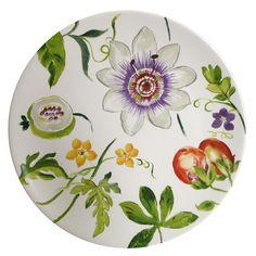Gien Passiflore Dinnerware   Artedona.com