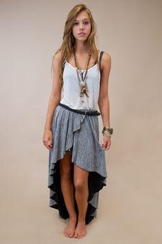 Love high low skirts