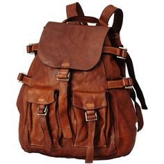 leather backpack / eruca japan